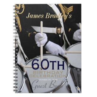 Royal British Band 60th Birthday Guest Book
