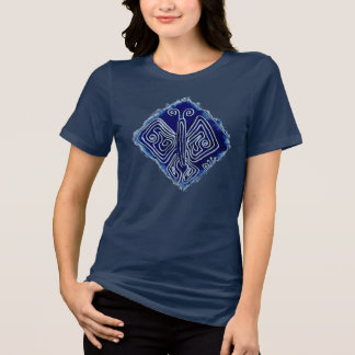 Royal Butterfly ladies' relaxed fit t-shirt, navy Shirts
