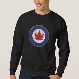 ROYAL CANADIAN AIR FORCE (RCAF) ROUNDEL RUSTIC SWEATSHIRT