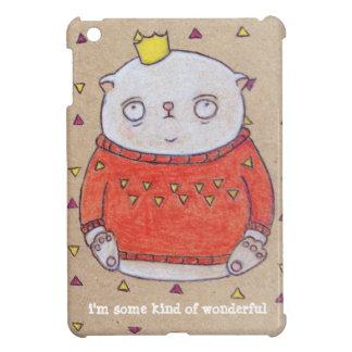 royal cat king pin iPad mini cover