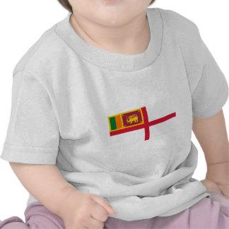 Royal Ceylon Navy, Sri Lanka flag T Shirts