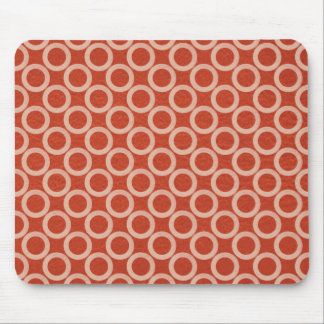 ROYAL Color Circles : Gold n Rich Red Energy Mouse Pad
