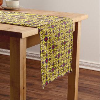 Royal Colorful  Kaleidoscope  Table Runner