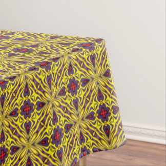Royal Colorful Vintage Kaleidoscope Tablecloth