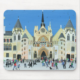 Royal Courts of Justice London 1994 Mouse Pad