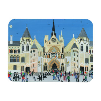 Royal Courts of Justice London 1994 Rectangular Photo Magnet