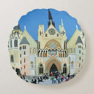 Royal Courts of Justice London 1994 Round Cushion