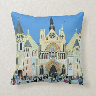 Royal Courts of Justice London 1994 Throw Cushions