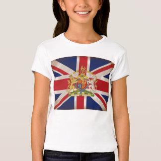 Royal Crest on Union Jack. Shirt