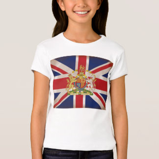 Royal Crest on Union Jack. T-Shirt