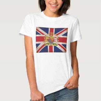 Royal Crest on Union Jack. Tshirt