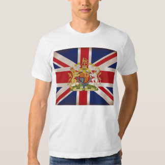 Royal Crest on Union Jack Tshirts