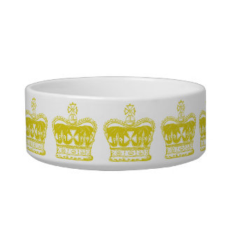 Royal Crown Graphic Bowl