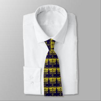 Royal Crown Graphic Tie