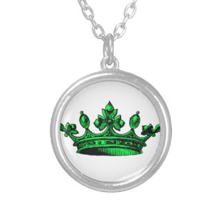 Royal Crown in lime green. Prince, Princess, King, Jewelry