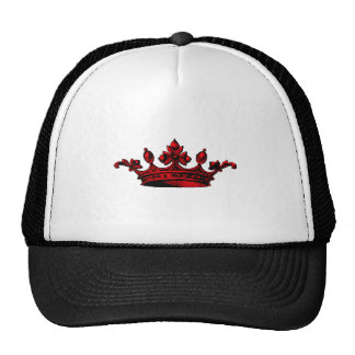 Royal Crown in red Prince, Princess, King, Queen c Hats