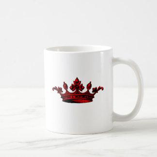 Royal Crown in red Prince, Princess, King, Queen c Mugs