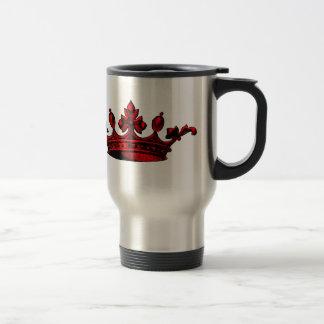Royal Crown in red Prince, Princess, King, Queen c Coffee Mug