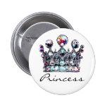 Royal Crown Princess buttons