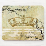 Royal Crown with Branches Mousepad