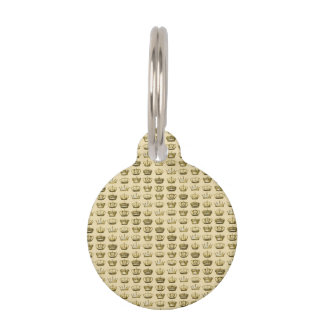 Royal Crowns of Gold Pet ID Tags