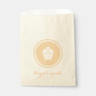 Royal Cupcake Favour Bags