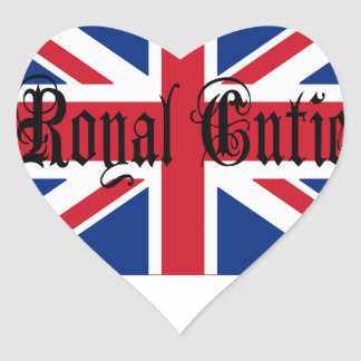 Royal Cutie Heart Sticker