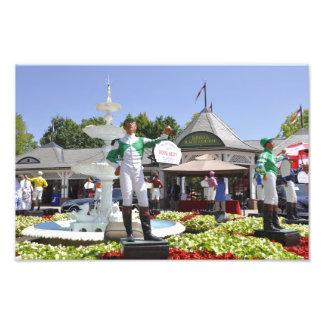 Royal Delta Jockey at Saratoga Photo Print