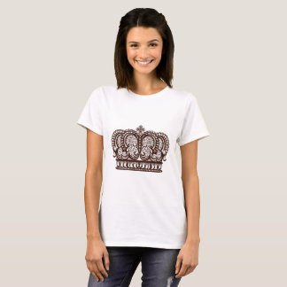 Royal design with crown in vintage style T-Shirt