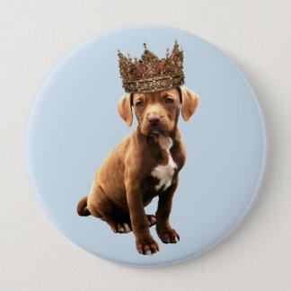 royal Dog #1 10 Cm Round Badge