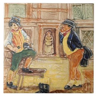 Royal Doulton Mr Pickwick Vintage Tile Design