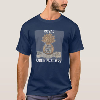 ROYAL DUBLIN FUSILIERS Navy T-shirt