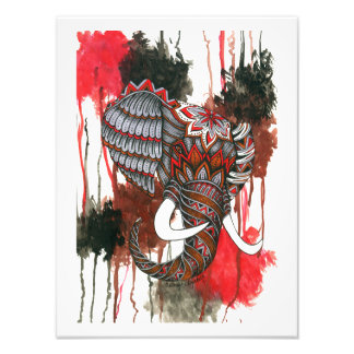 Royal Elephant Art Photo