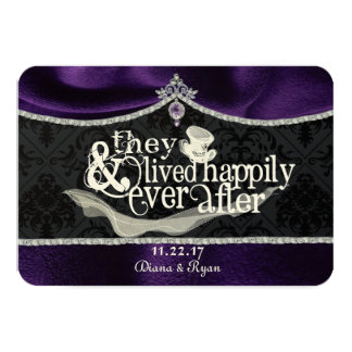 Royal Fairytale Thankyou Card