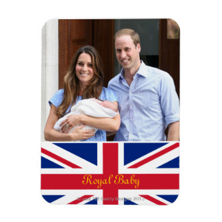 Royal Family at Lindo Wing 3 Rectangular Photo Magnet