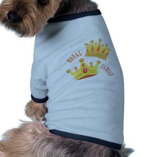 Royal Family Ringer Dog Shirt