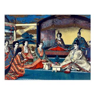 Royal family's wedding by Kasai,Torajirō Postcard