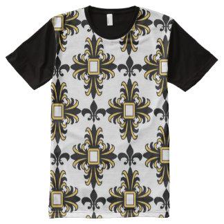 Royal Fleur De Lis All-Over Print T-Shirt