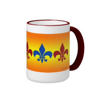 Royal Fleur de Lis Mug