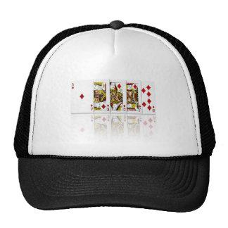 Royal Flush Diamonds Cap