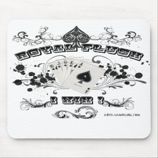 Royal Flush Mouse Pad