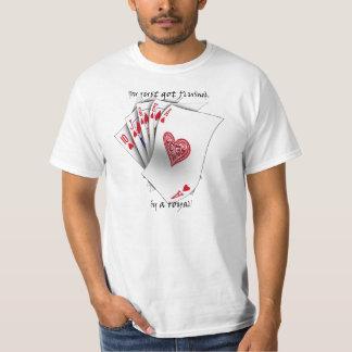 Royal Flush of Heart Tee Shirts