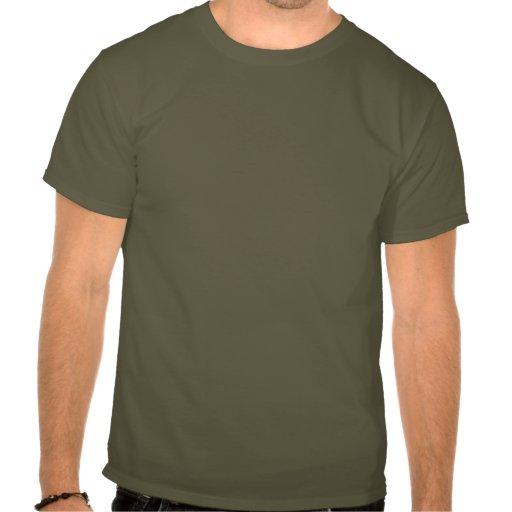 Royal Flush Spades on Burlap Background Shirts