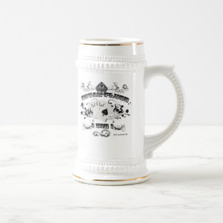 Royal Flush Stein
