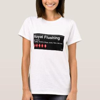 Royal Flushing Express Tee by Steve Price