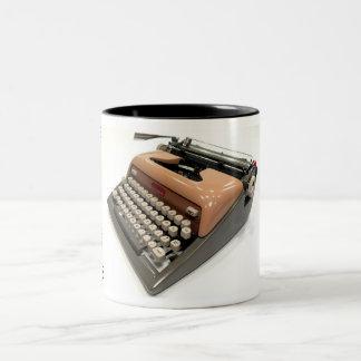 Royal Futura 800 typewriter Two-Tone Coffee Mug
