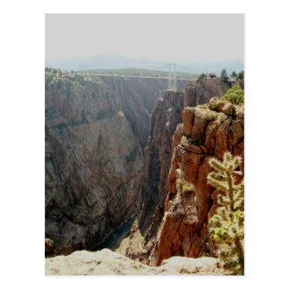Royal Gorge and Bridge - Canon City, Colorado Postcard
