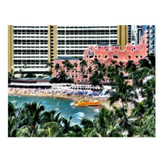 Royal Hawaiian Hotel, Honolulu, Hawai'i Postcard