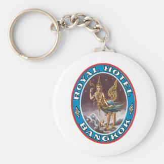 Royal Hotel Bagkok Basic Round Button Key Ring