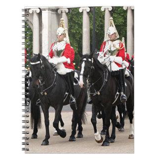 Royal Household Cavalry, London, England Notebooks